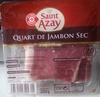 Jambon cru 20 tranches - Produit