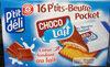 Petit beurre pocket choco-lait x 16 - Produit