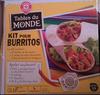 Kit pour Burritos - Produit
