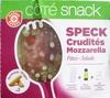 Salade speck crudités mozzarella - coffret - Product