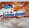 Crème dessert caramel sur lit de chocolat - Produit