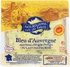 Bleu d'Auvergne au lait de vache pasteurisé - Product