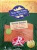 Truite fumée au bois de hêtre label Rouge (4 tranches) 120 g - Produit