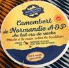 Camembert de normandie AOP au lait cru de vache - - Produit