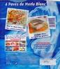 4 pavés de Merlu blanc - Product