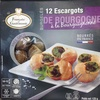12 escargots de Bourgogne à la bourguignonne surgelés - Produit