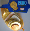 Chocolat au lait pièces Euro Sorini - Product