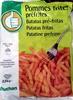 Pommes frites préfrites - Prodotto