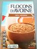 Flocons d'Avoine 100 % céréales - Product
