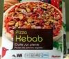 Pizza kebab cuite sur pierre - Produit