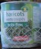 Haricots verts coupés très fins - Product