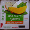 Compotes pomme mangue sans sucres ajoutés - Product