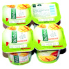Lait fermenté au Bifidus, aromatisé à la mangue avec des mordeaux de fruits - Produit