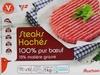 Steaks hachés 100% pur Bœuf - 15% matière grasse - Produit