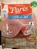 Jambon de Paris (-25% de sel) - Produit