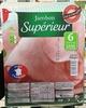 Jambon Supérieur - 6 Tranches - Sans couenne - Product