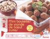 Mini boulettes de viandes de boeuf cuites - Produit