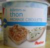 Rillettes de thon Fromage ciboulette - 200 g - Product