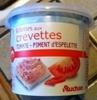 Rillettes aux crevettes Tomate - Piment d'Espelette - Product