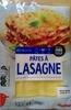 Pâtes à lasagne - Product