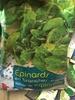Épinards en branches en portions - Producto