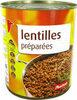 Lentilles - Producto