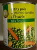 Petits pois et jeunes carottes à l'étuvée très fins - Product