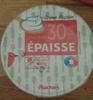Crème fraîche entière épaisse (30% MG) - Produit
