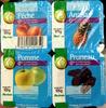 Yaourts (0 % MG) Pêche, Ananas, Pomme, Pruneau - Product