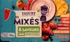 Yaourt aux fruits mixés sans morceaux (16 pots) - Product