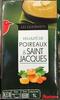 Les gourmets - Velouté de poireaux & Saint Jacques - Produit
