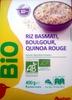 Riz Basmati, Boulgour, Quinoa Rouge - Prodotto