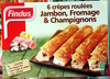 6 Crêpes Roulées Jambon, Fromage & Champignons - Produit