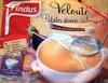 Velouté patates douces, aubergines et pointe de crème fraîche - Product