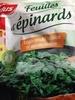 Feuilles d'épinards - Prodotto