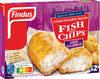 Colin d'Alaska façon Fish and chips saveur Salt & Vinegar - Produit