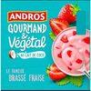 Gourmand & végétal fraise au lait de coco - Producto