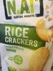 Rice Crackers Fins au de riz wasabi - Product
