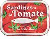 Sardines à l'huile de tournesol et à la tomate - Product