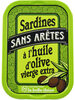 Sardines sans arêtes à l'huile d'olive - Product