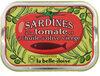 Sardines à l'huile d'olive et à la tomate - Produit