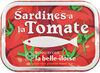Sardines à l'huile de tournesol et à la tomate - Produit