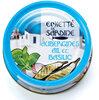Emietté de sardine aubergines, aïl et basilic - Product