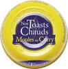 Nos toasts chauds moules au curry - Produit