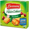 Brossard - mini cake fruits x10 300g offre eco - Product