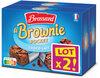 Brossard-lot2 mini brownie chocolat au lait x8 - Product