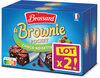 Brossard - lot2 mini brownie chocolat noisettes x8 - Product