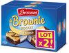 Brossard-lot2 mini brownie duo choco x8 - Product