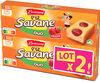 Lt2 p'tit savane duo fraise x6 150g - Product