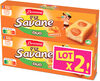 Lt2 p'tit savane duo abricot x6 150g - Product